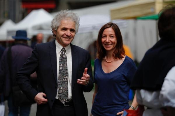 Jean-Yves Pidous et Natacha Litzisdorf