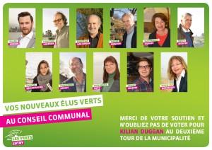 Elus Verts 2016-2021